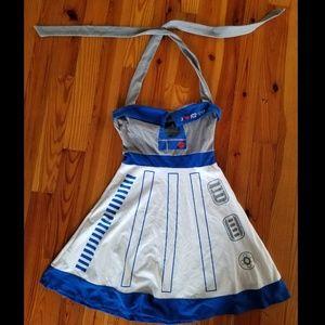 Star Wars Her Universe R2D2 halter dress